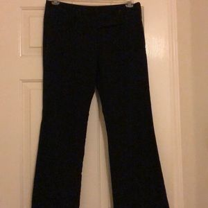 Black boot cut pants